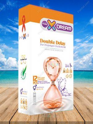 کاندوم ایکس دریم دابل دیلی - کاندوم تاخیری خیلی قوی - کاندوم تاخیری - تاخیری - ایکس دریم - دابل دیلی - کاندوم ارزان