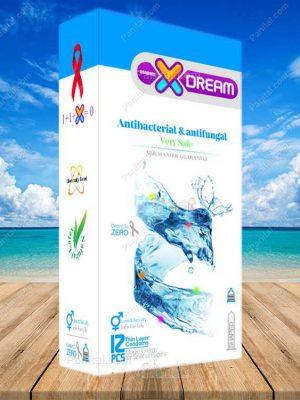 کاندوم ضد قارچ و عفونت ایکس دریم - کاندوم ضد عفونت - کاندوم ضد قارچ - کاندوم ایکس دریم - ایکس دریم - انتی فانگال - کاندوم ارزان