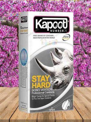 کاندوم استی هارد کاپوت - کاندوم استی هارد - کاندوم تاخیری - قزوین کاندوم - کاندوم - کاندوم ارزان - کاندوم با کیفیت