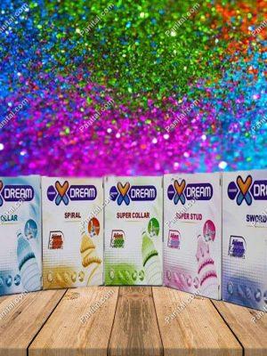 کاندوم فضایی - xdream - کاندوم اره ماهی - قیمت کاندوم فضایی - کاندوم دکمه دار - خرید کاندوم فضایی - ایکس دریم - شمشیری - چرخشی - طوقی